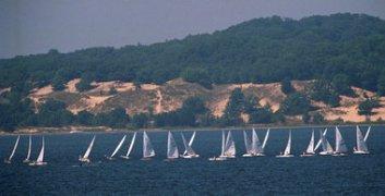 muskegon lake sailing