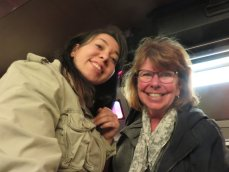 meeting Lidia at the train station
