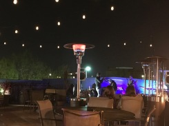 jazz on a rooftop bar